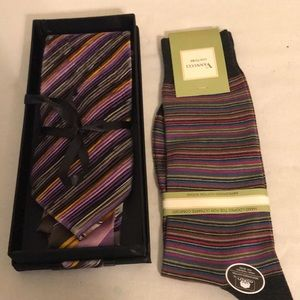 Ties and socks